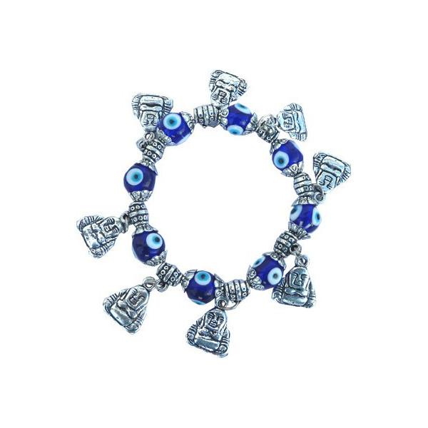 Bracelet bouddha contre le mauvais oeil