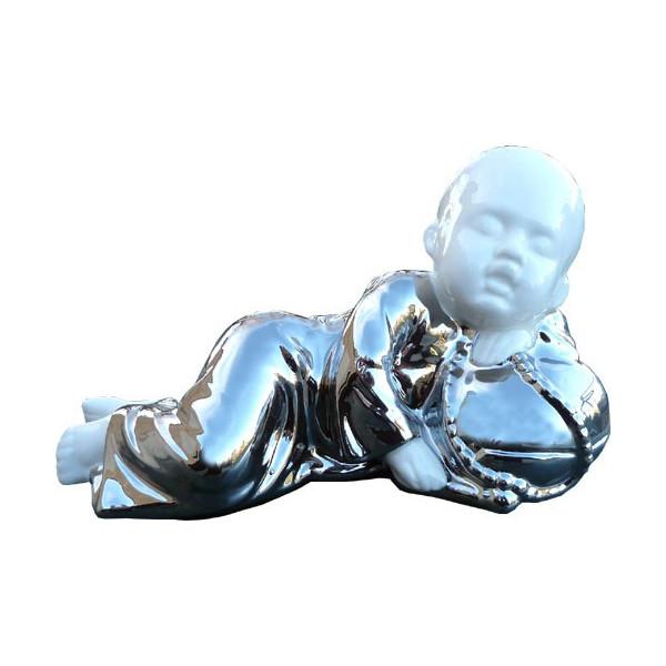 Moine bouddhiste couché