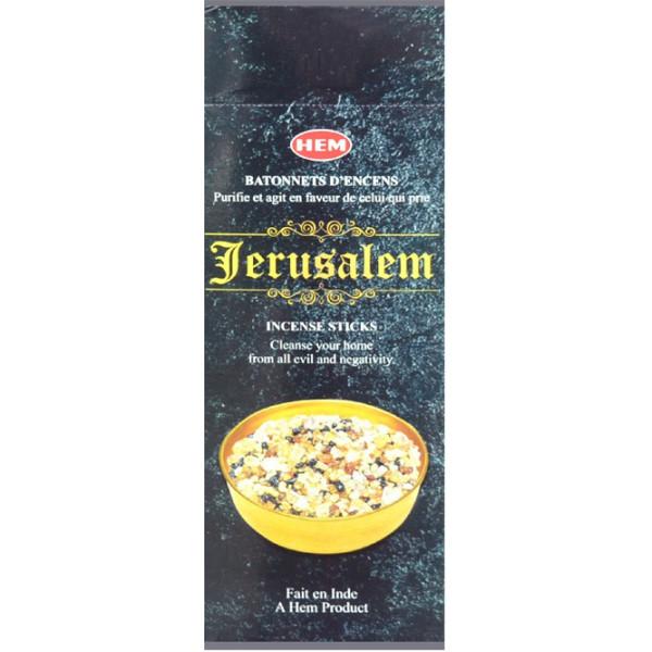 Encens bâtons Jérusalem 20 gr