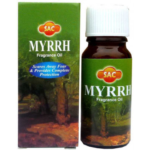 Flacon d'huile parfumée myrrhe