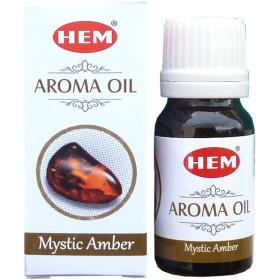 Flacon d'huile parfumée Hem ambre mystique
