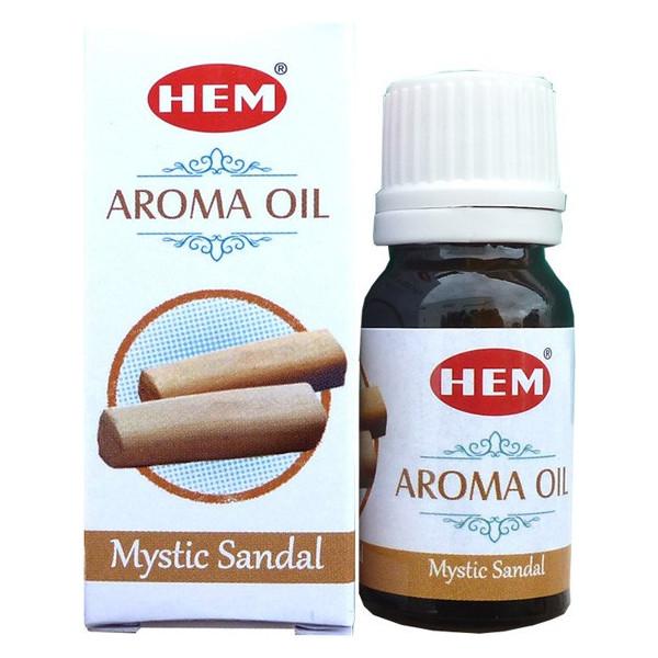 Flacon d'huile parfumée Hem santal mystique