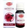 Flacon d'huile parfumée Hem rose mystique
