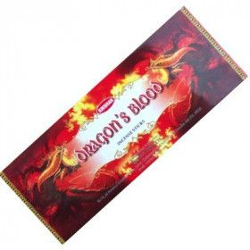 Pack de 25 boites d'encens batons sang de dragon