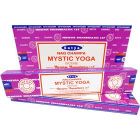 Encens bâtons satya mystic yoga 15 gr