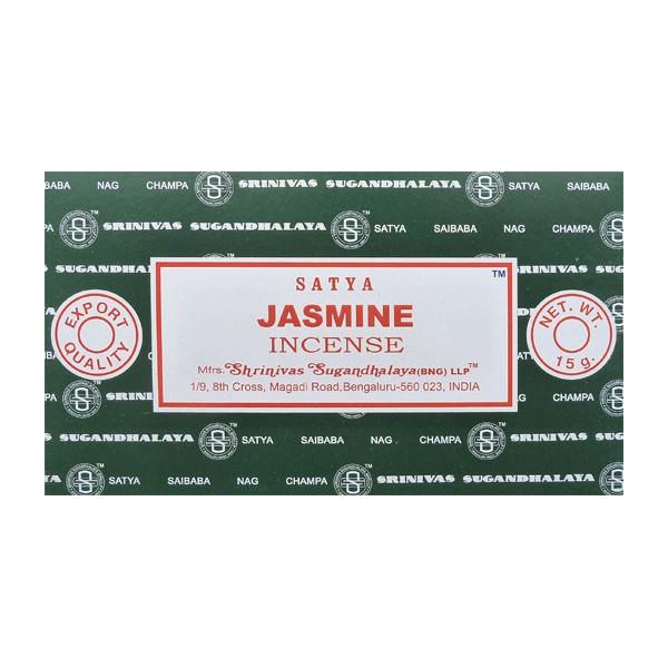 Encens bâtons satya jasmine 15g.
