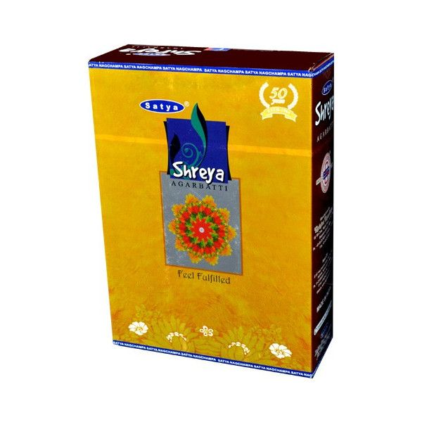Encens bâtons satya shreya 20 gr