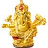 Ganesh aus goldenem Harz