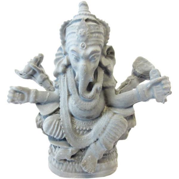 Ganesh en résine grise