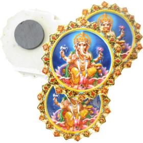 Ganesh Magnete im Relief