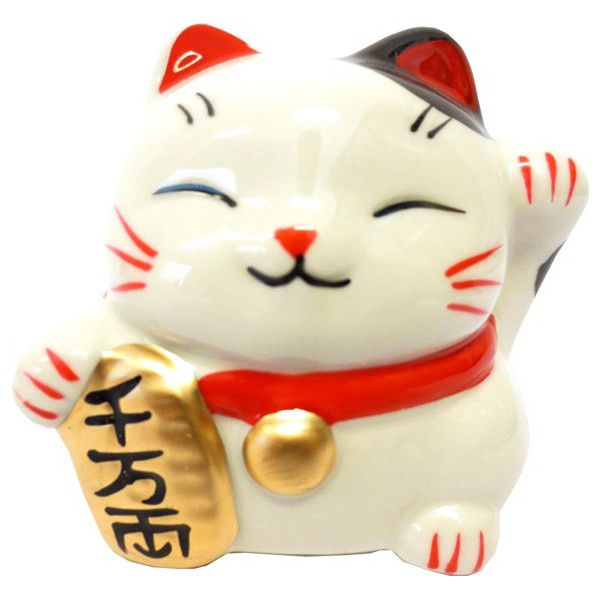 Tirelire chat porte bonheur