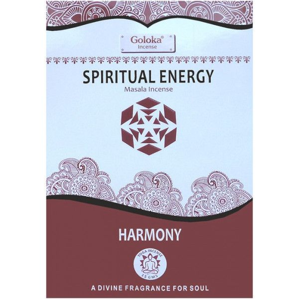 Encens batons goloka spiritual energy 15 gr