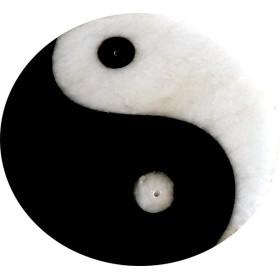 Porte encens ying yang 10 cm