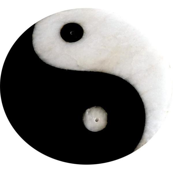 Porte encens ying yang 10 cm original et d coratif for Deco ying yang