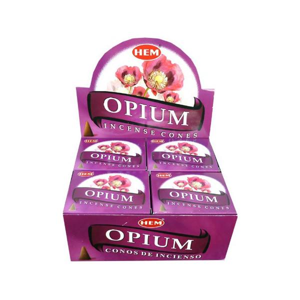Encens cônes hem opium