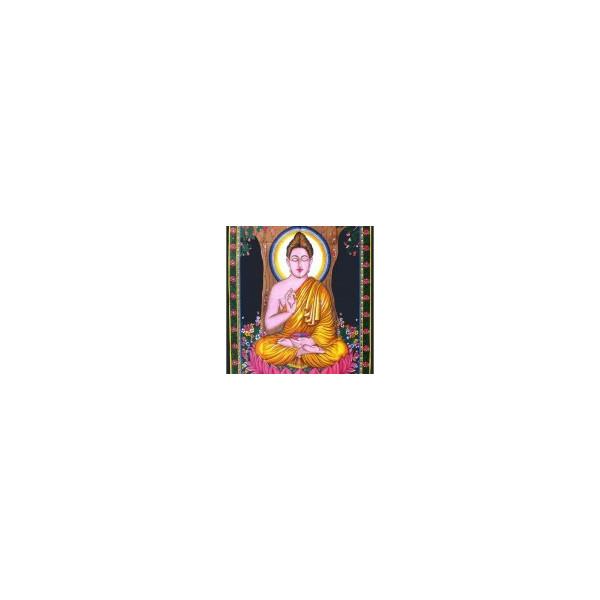 Tenture imprimée bouddha