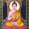 Buddha Druck hängen
