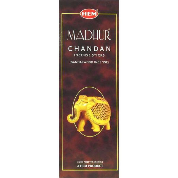 Weihrauch Saum Madhur Chandan Hexa 20 g