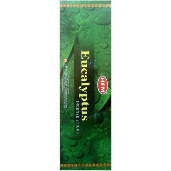 Encens batons Hem eucalyptus 10 gr