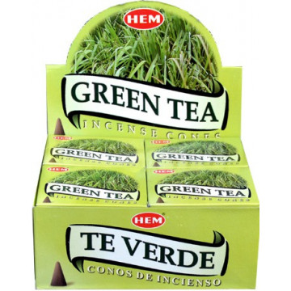 Encens cônes Hem thé vert