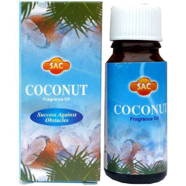 Flacon d'huile parfumée noix de coco