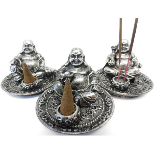 Ensemble de 3 bouddha rieurs