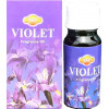 Flacon d'huile parfumée violette