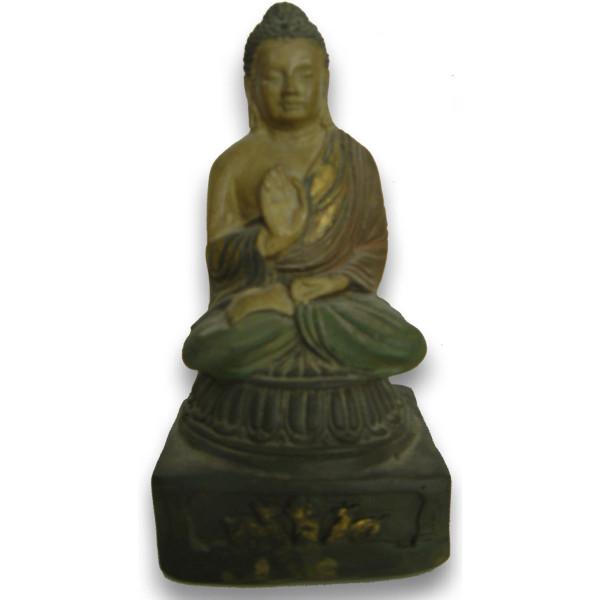 Statuette de bouddha sur socle