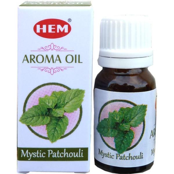 Flacon d'huile parfumée Hem Patchouli mystique