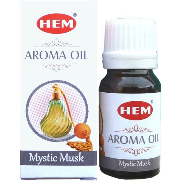 Flacon d'huile parfumée Hem musk mystique