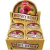 Encens cônes hem miel & rose