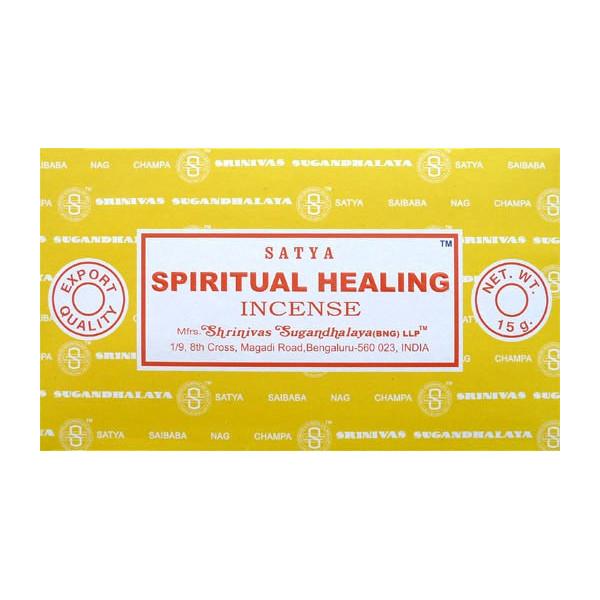 Räucherstäbchen satya spirituelle Heilung 15 g.