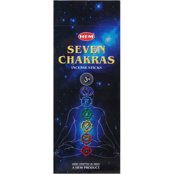 Encens hem 7 chakras 20 gr