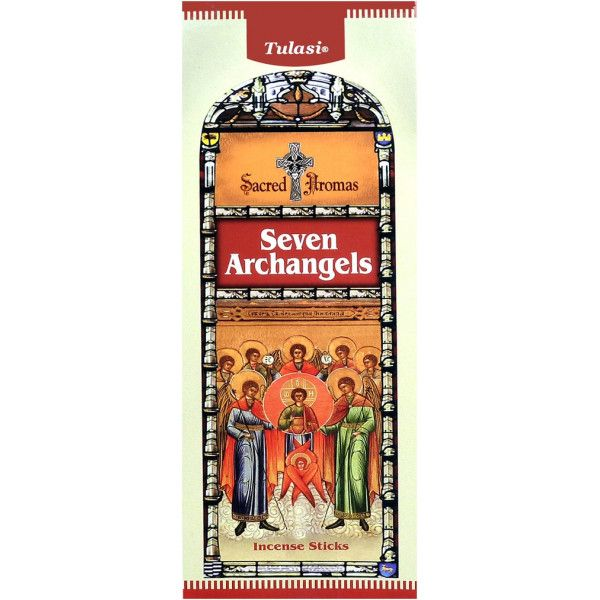 Boite d'encens Tulasi 7 Archanges  20 gr
