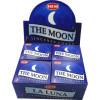 Encens cônes hem the moon