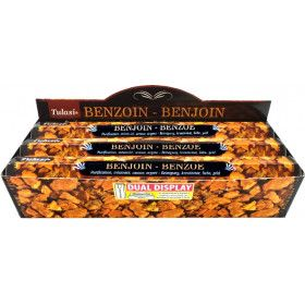 Boite d'encens tulasi benjoin 20 gr