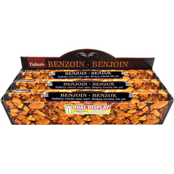 Schachtel Weihrauch Tulasi Benzoe 20 gr