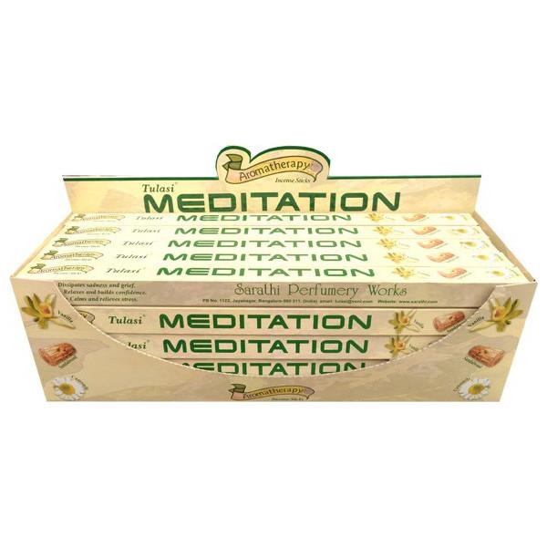Räucherstäbchen Tulasi Meditation 10 gr