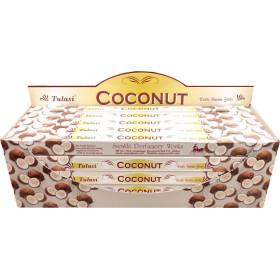 Encens batons tulasi noix de coco 10 gr