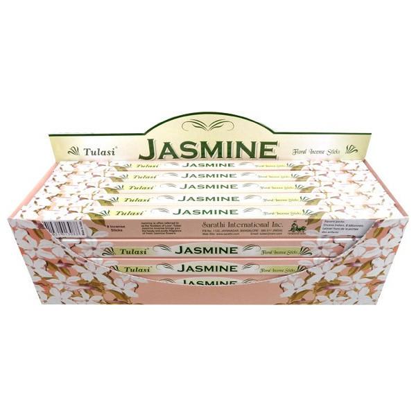 Encens bâtons tulasi jasmin 10 gr