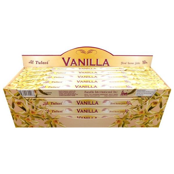 Räucherstäbchen Tulasi Vanille 10 gr