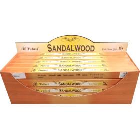 Encens bâtons tulasi bois de santal 10 gr