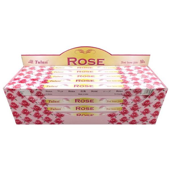 Räucherstäbchen rosa Tulasi 10 gr