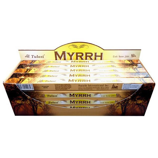 Encens bâtons tulasi myrrh 10 gr