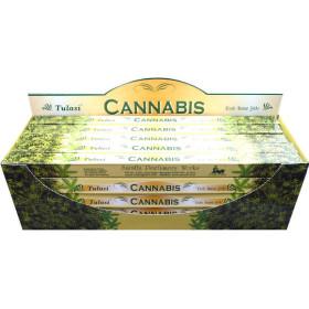 Räucherstäbchen Tulasi Cannabis 10 gr