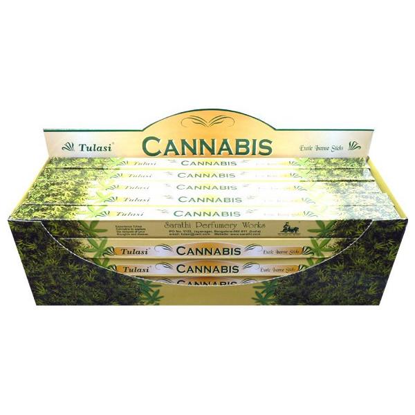 Encens bâtons tulasi cannabis 10 gr