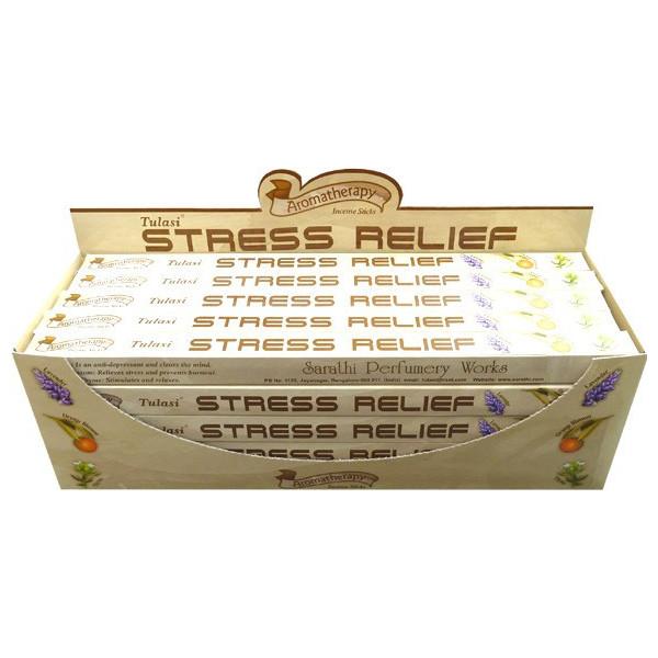 Encens bâtons tulasi stress relief 10 gr