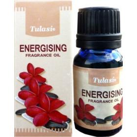 Flacon d'huile parfumée Tulasi énergisant