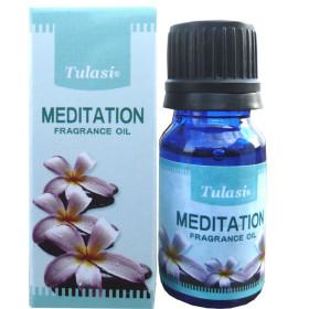 Flacon d'huile parfumée Tulasi méditation