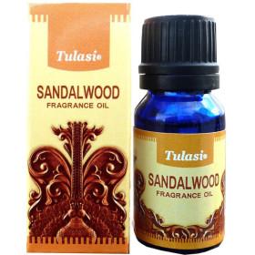 Flacon d'huile parfumée Tulasi bois de santal
